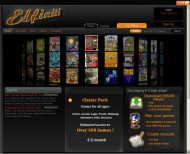 Elfiniti Games Player screenshot